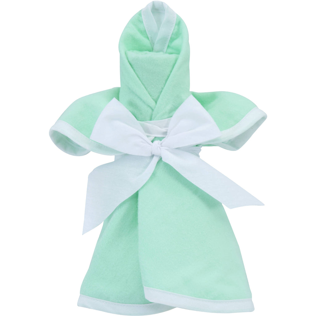 mint angel gift set bib blanket burp pad