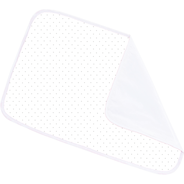 NuAngel Changing Pad - White with Gray Dot