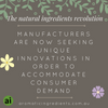 The Natural Ingredients Revolution