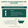 How you can use essential oils for aromatherapy and relaxation. Aromatic Ingredients