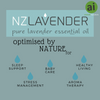 NZ Lavender optimised by nature for healthy living - Aromatic Ingredients