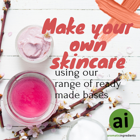 Make your own skincare with our range of ready made bases