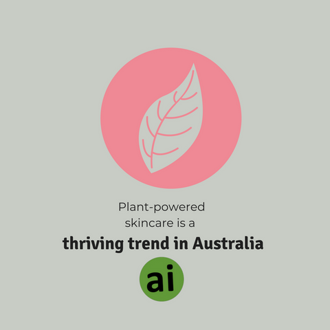 Plant-powered skincare is definitely a thriving trend in Australia