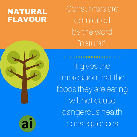"Consumers are comforted and encouraged by the word ""natural"". It gives the impression that the foods they are eating will not cause dangerous health consequences. - Aromatic Ingredients"