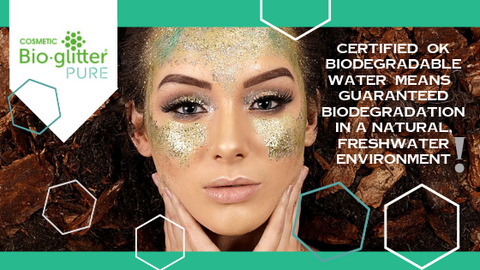 Cosmetic Bioglitter® PURE not only sets a new environmental standard for the glitter industry.