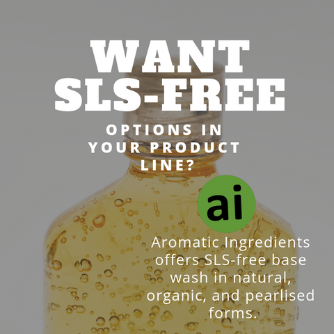 Want SLS free options in your product lines?