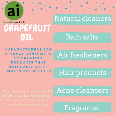 The Best Uses of Grapefruit Oil in Cosmetic and Self-Care Products