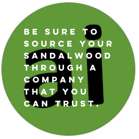 Australian Sandalwood - grown with love and care | Aromatic Ingredients