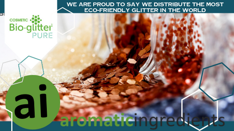 Aromatic Ingredients is the proud distributor of Bio-Glitter PURE