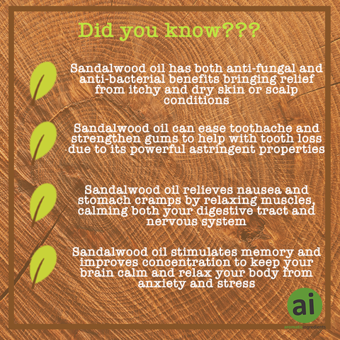 Did you know this about Sandalwood - Aromatic Ingredients