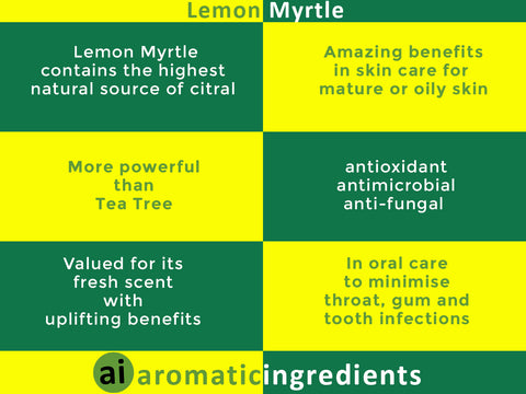 Benefits of Lemon Myrtle
