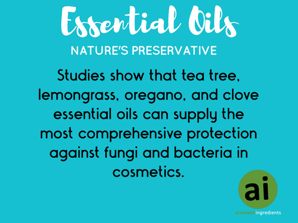 Essential Oils: The Perfect Natural Cosmetic Preservatives