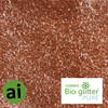 Cosmetic Bio-glitter Pure Bronze - Aromatic Ingredients