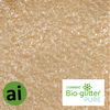 Cosmetic Bio-glitter Pure Light Gold - Aromatic Ingredietns