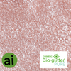 Cosmetic Bio-glitter Pure Rose Pink - Aromatic Ingredients