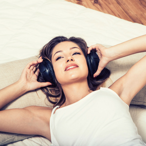 reduce stress relax music clear skin