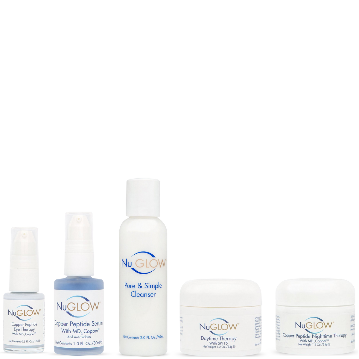 5-Piece Kit with Pure & Simple Cleanser - 60-Day Supply