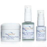 NuGlow Skincare 3-Piece Anti-Aging Basic Kit