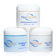 NuGlow Skincare 3-Piece Mask Pack Kit