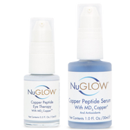 NuGlow Skincare Copper Peptide Serum Kit
