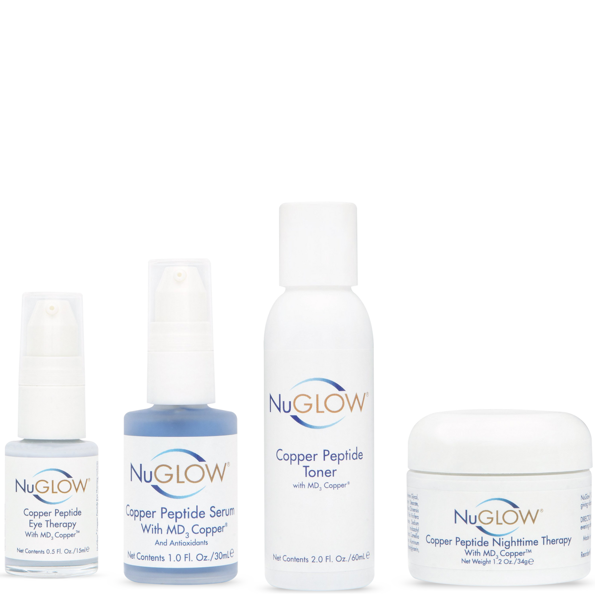 NuGlow Skincare 4-Piece Anti-Aging Essential Kit
