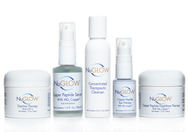 NuGlow Skincare 5-Piece Daily Kit for Normal Skin with Therapeutic Cleanser