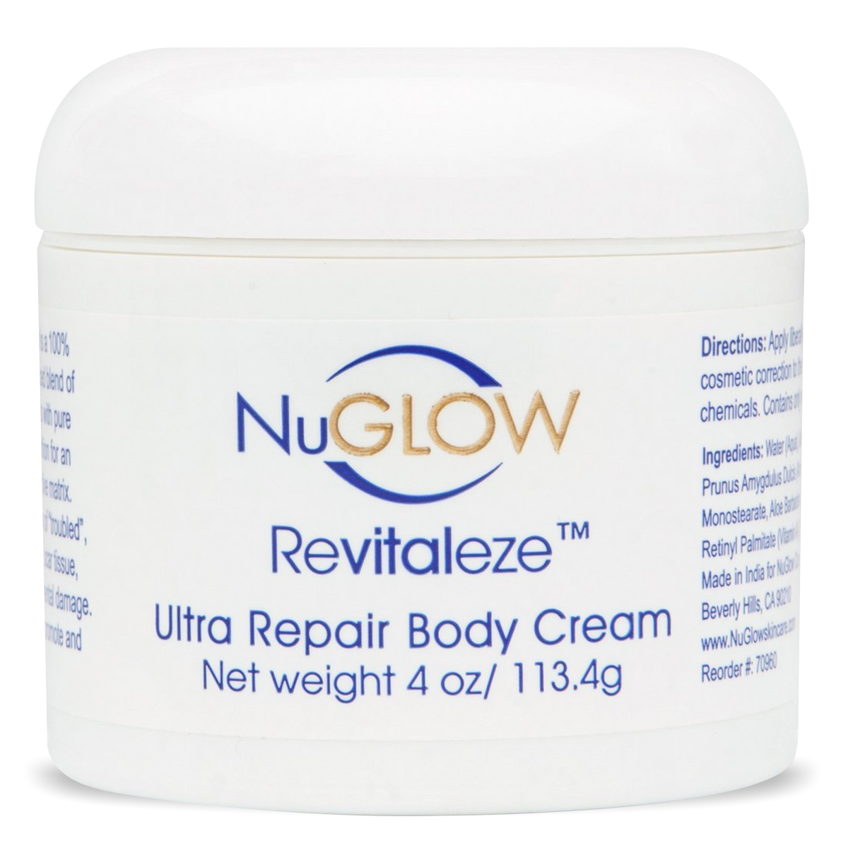Revitaleze Ultra Repair Body Cream - 60-Day Supply