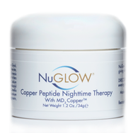 NuGlow Skincare Copper Peptide NightTime Cream
