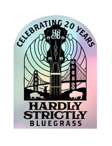 "H-12 ""HSB 2020"" Holographic commemorative decal"