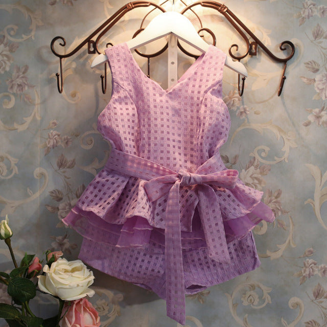 Girls Romper - Here Comes A Baby