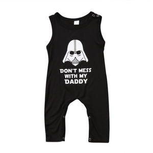 Boy Romper - Here Comes A Baby
