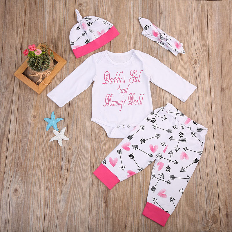 4pc set - Here Comes A Baby