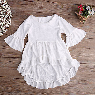 shirt dress style long sleeve drop back with flow sleeve and shirt - Here Comes A Baby