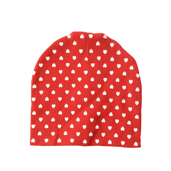 Baby Hat Cotton Printing Caps For Baby Boy Girl Infant Beanie Hat Spring Autumn Winter Children's Hats Caps Star Heart Dot - Here Comes A Baby
