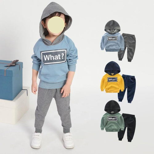 Christmas Fashion Baby Girl Boy Hoodies 2pcs suit Autumn Winter Toddler Kids clothes Hooded Tops Long Pants Outfits Set 18M-7T yellow green blue grey - Here Comes A Baby