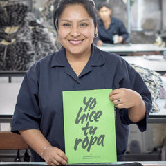 Anyela - fair trade artisan in Peru - ethical fashion