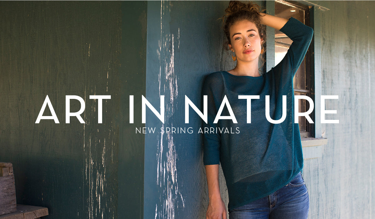 Art in Nature | Indigenous Sustainable Fashion Women's Collection | Organic Cotton Clothing
