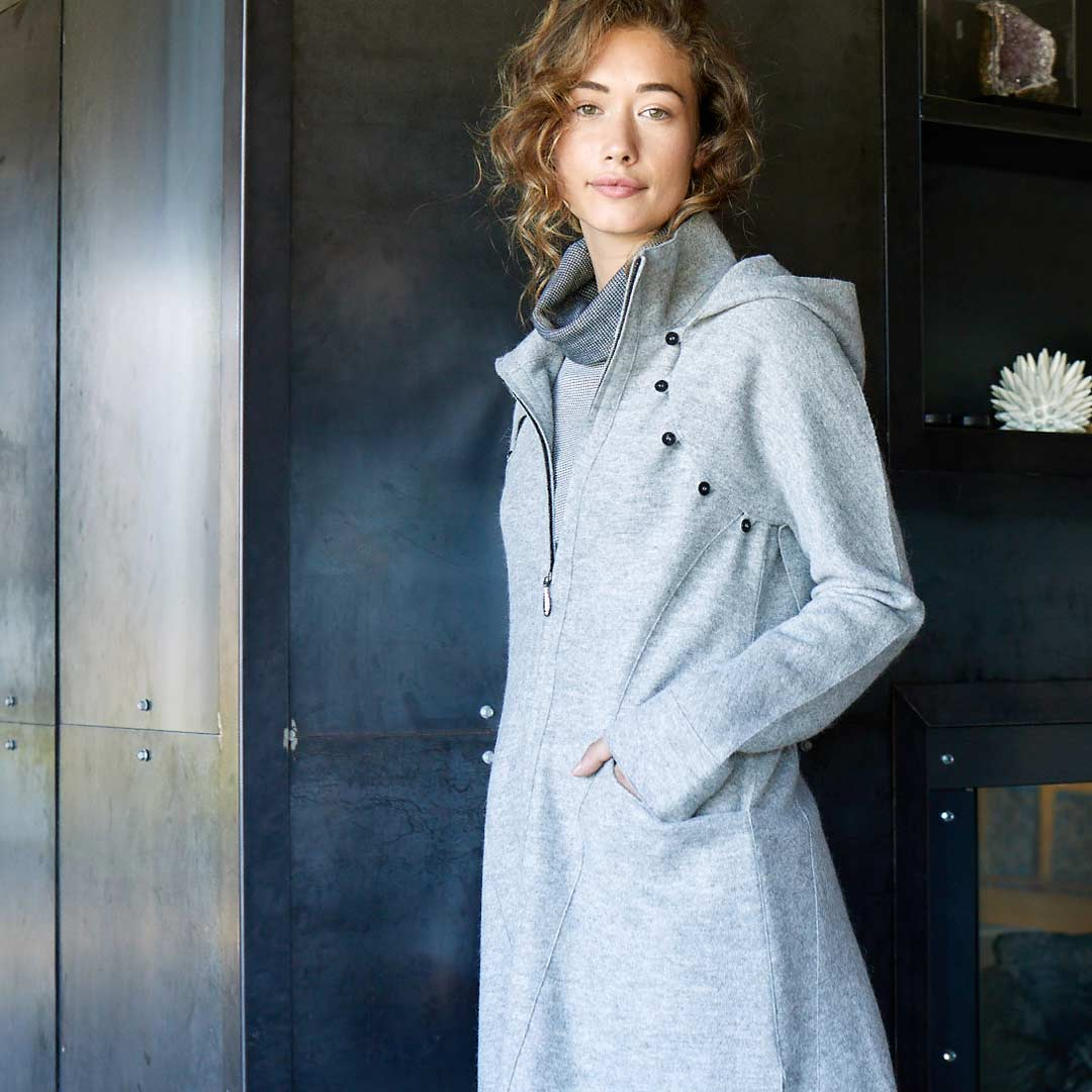 Shop alpaca wool clothing | Sustainable and eco friendly fashion coats and sweaters