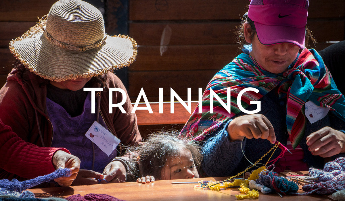 Fair Trade Clothing : Empowering women through free training to escape domestic abuse