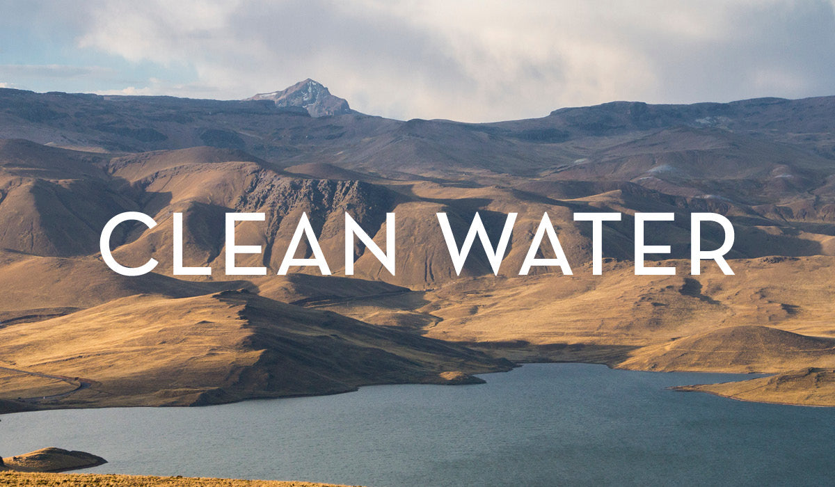 We provide clean drinking water to highland women and their families