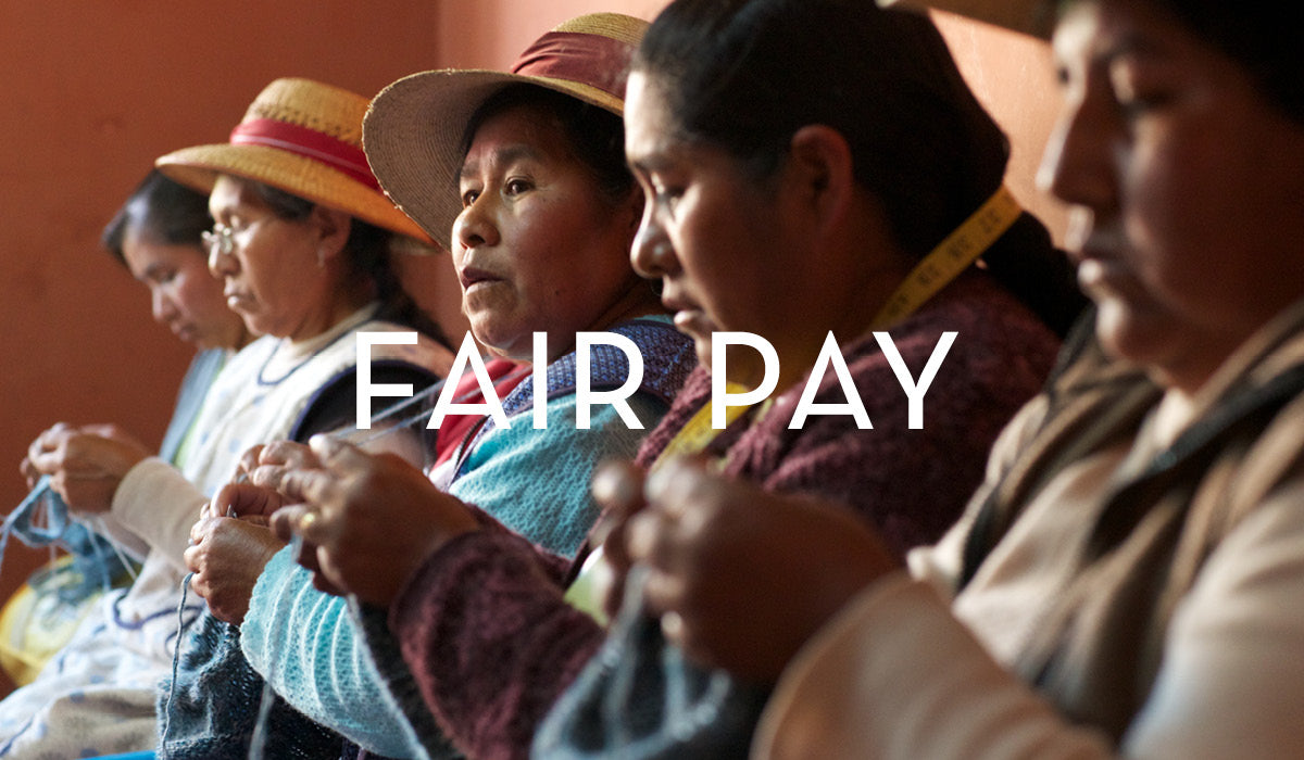 Fair Trade Clothing: providing fair pay for artisans who handcrafted our clothing