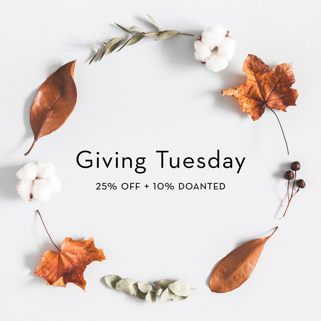Giving Tuesday - help California fire victims - ethical fashion