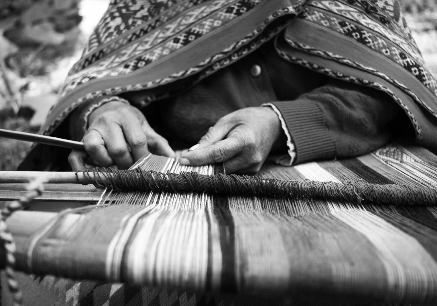 Lap Loom | Peru Fair Trade Clothing and Textile History