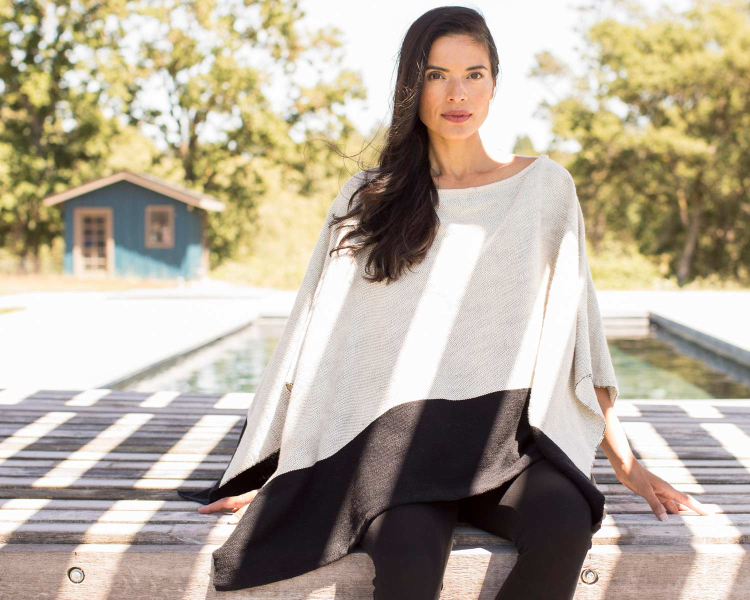 Handwoven Poncho | Fair trade fashion