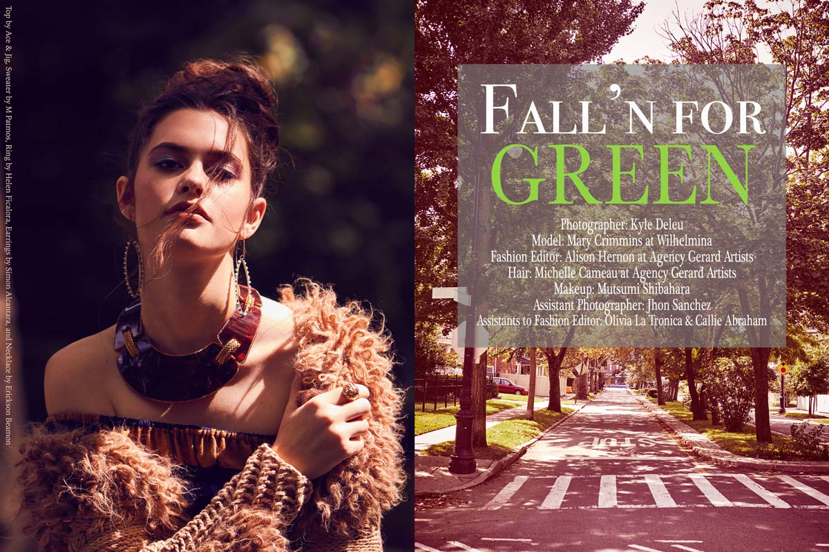 Sustainable Fashion Feature in Jejune Magazine