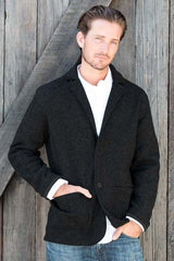 Mens alpaca sport coat