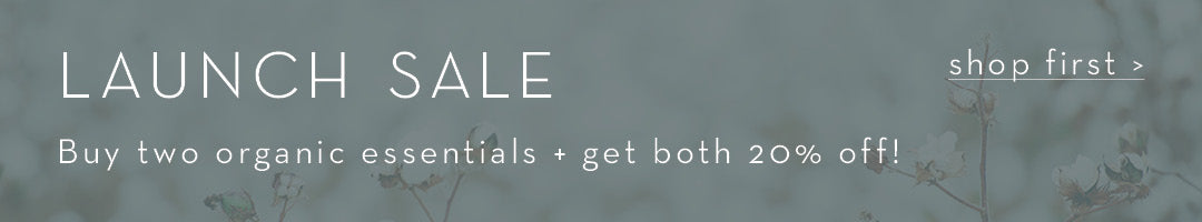 Organic Essentials Collection | Ethical Fashion Sale | Sustainable Capsule Wardrobe