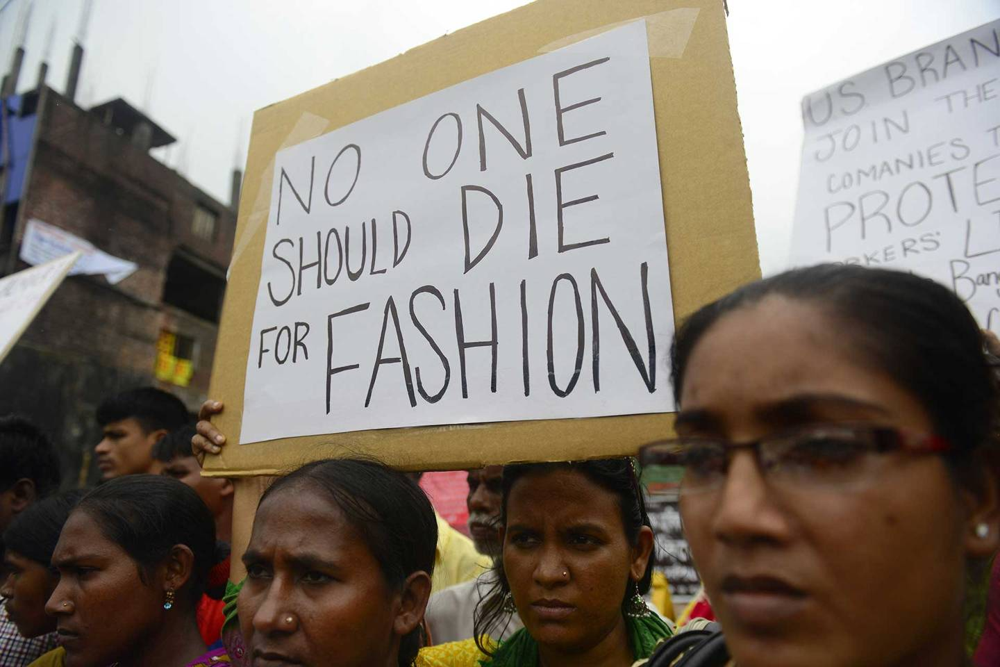 No one should die for fashion | Fashion revolution | Rana Plaza Collapse