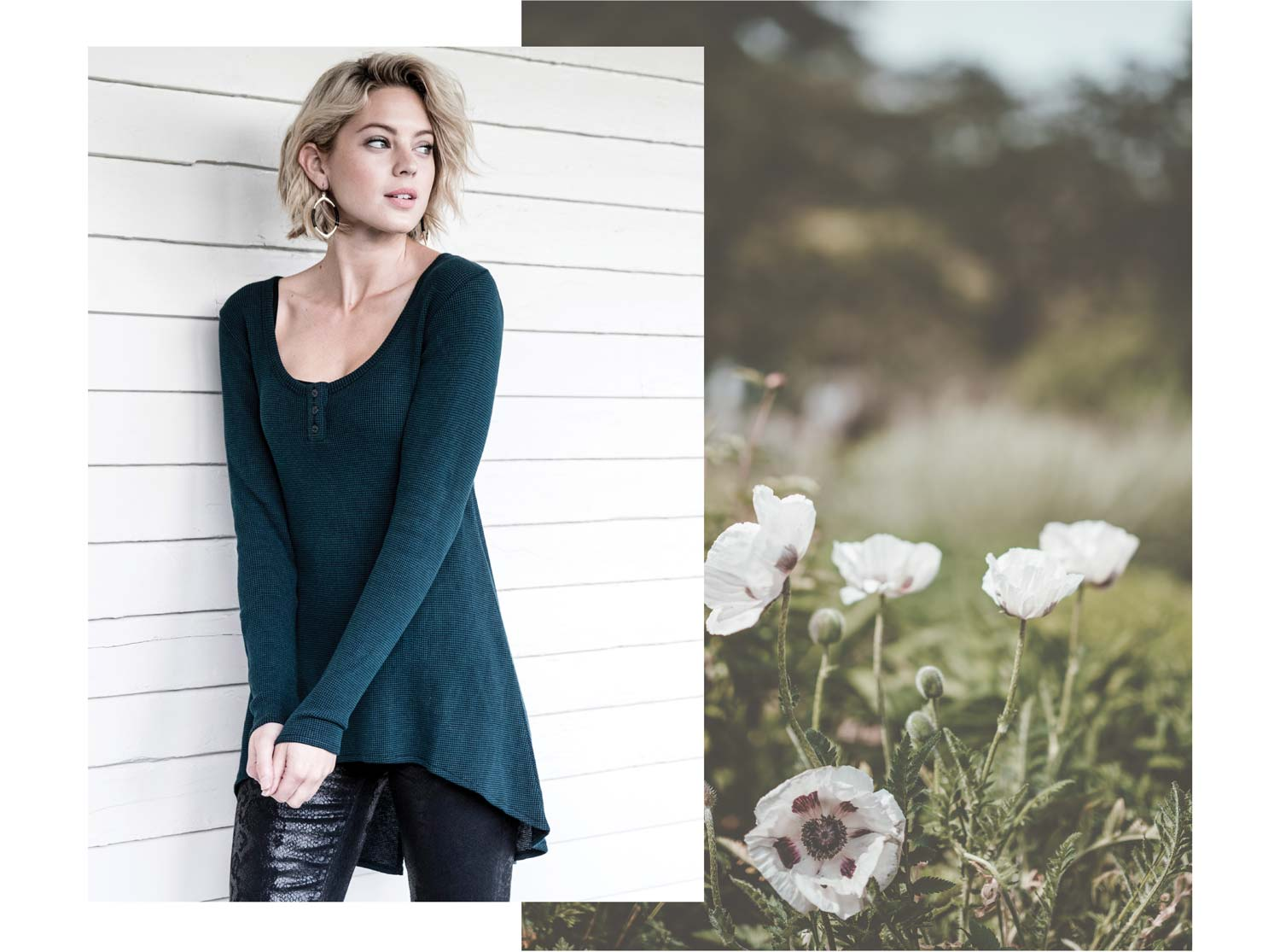 Organic Cotton Waffle Clothing for Women | New for Fall 2018