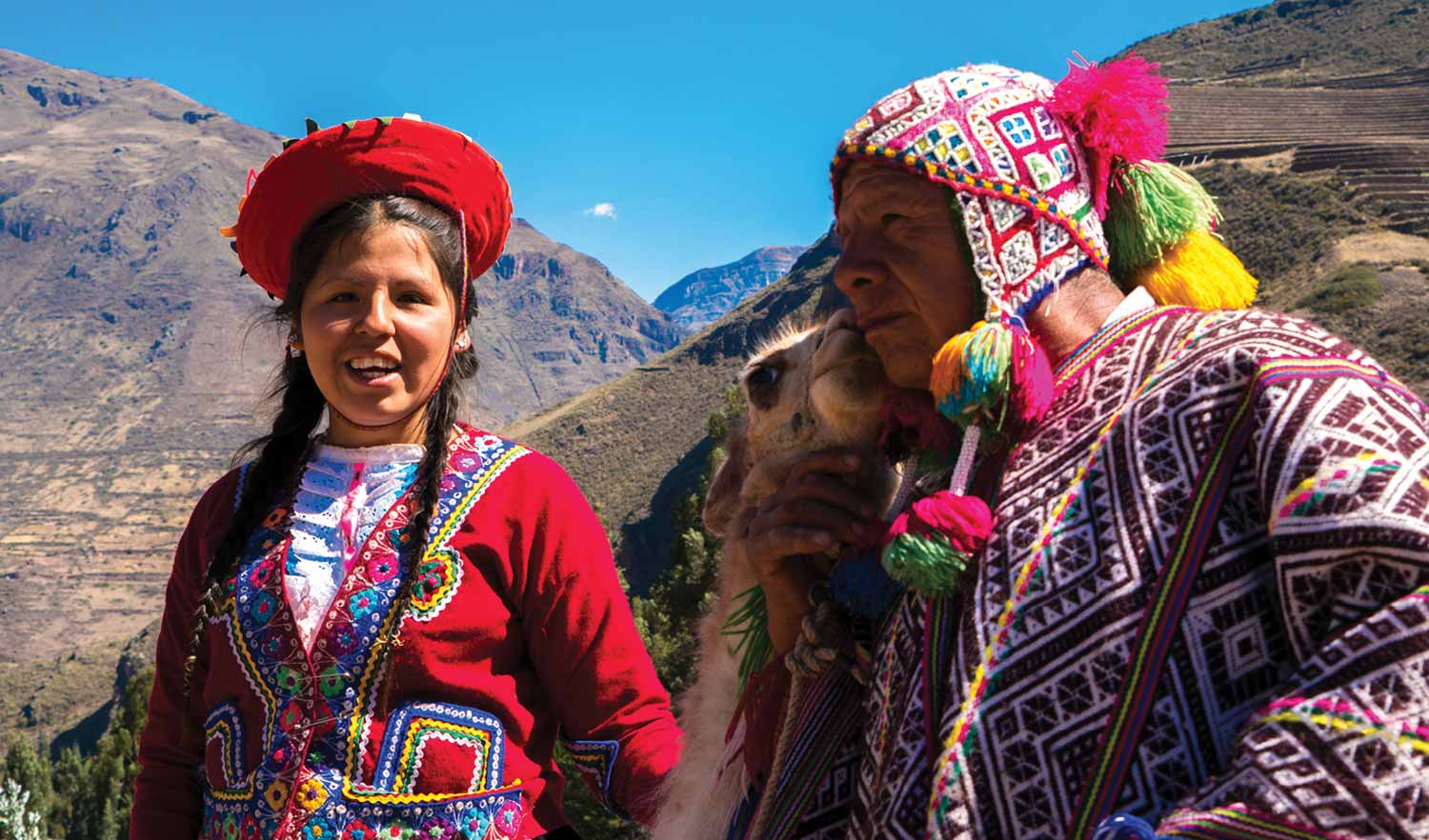 Indigenous South Americans Who Raise Alpacas
